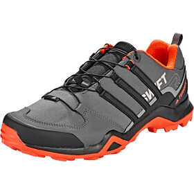 adidas TERREX Swift R2 Hiking Shoes Lightweight Men, grey five/core black/active orange